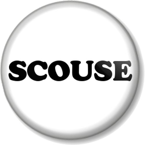 SCOUSE - Badge for people from Liverpool - Scouser, Liverpudlian, Pride in your city and Proud