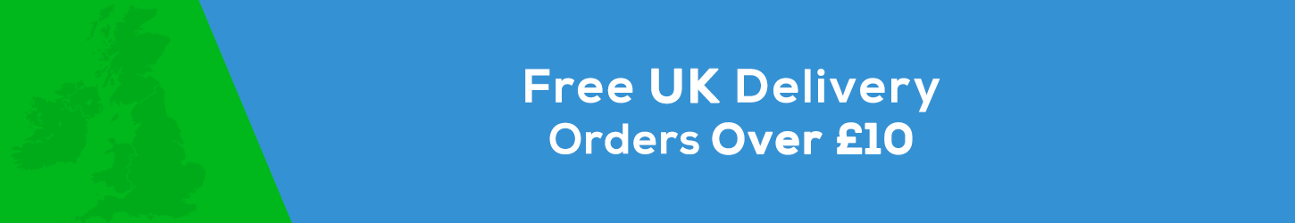 Free UK Delivery on orders over £10