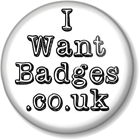 I Want Badges Logo - Links to homepage